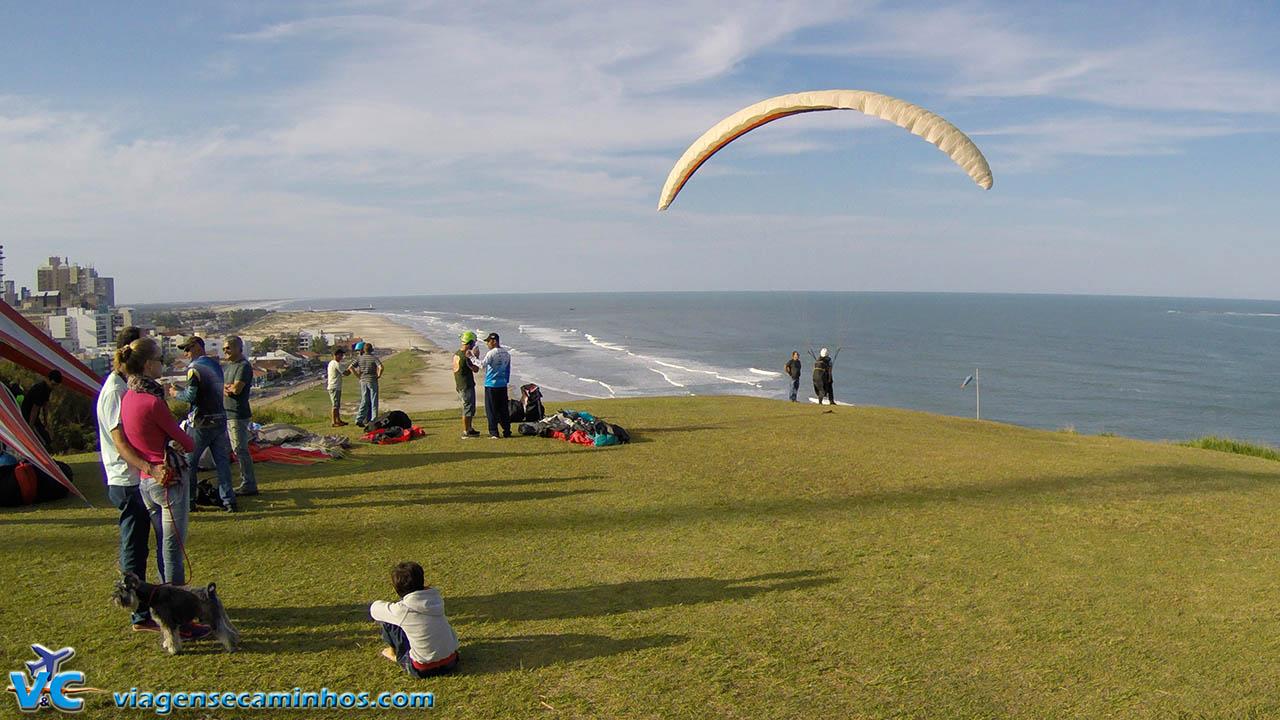 Paraglider no Morro do Farol - Torres