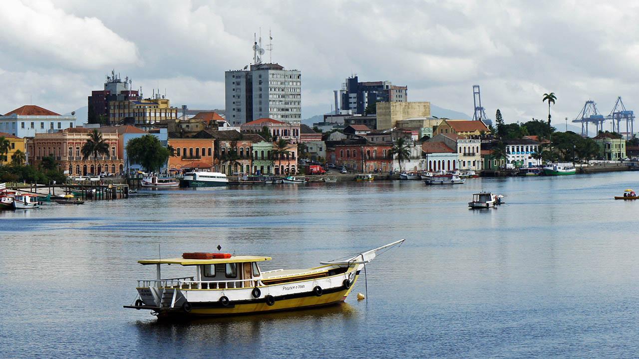 Rio Itiberê - Paranaguá