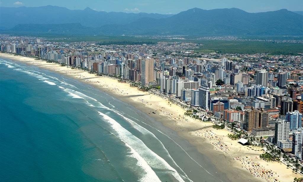 Vista aérea de Praia Grande - SP