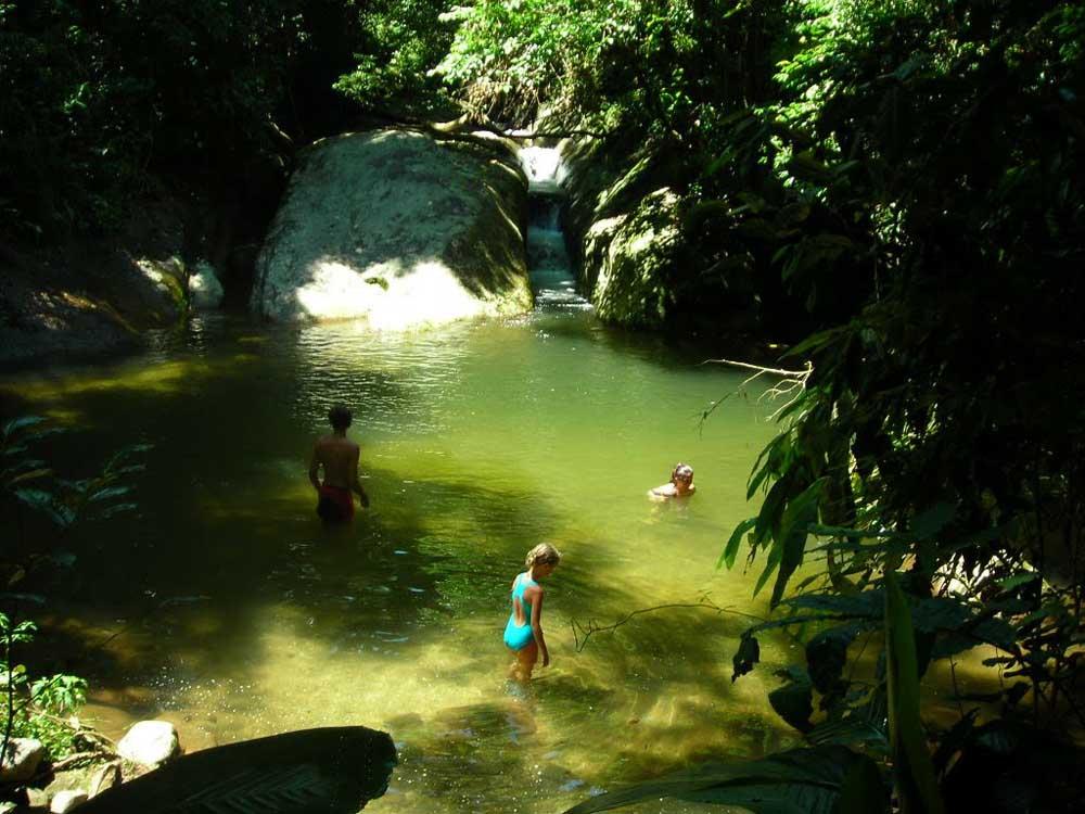 Cachoeira da Escada - Ilhabela