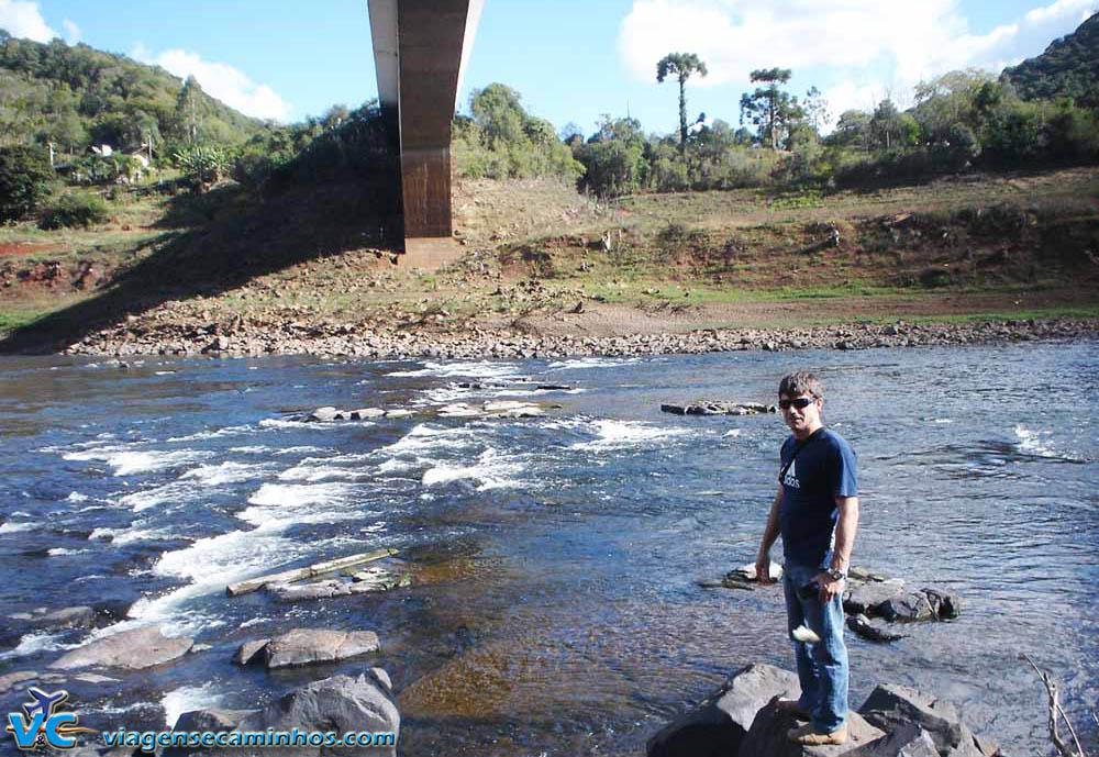 Rio Pelotas - Vacaria (seca de 2012)