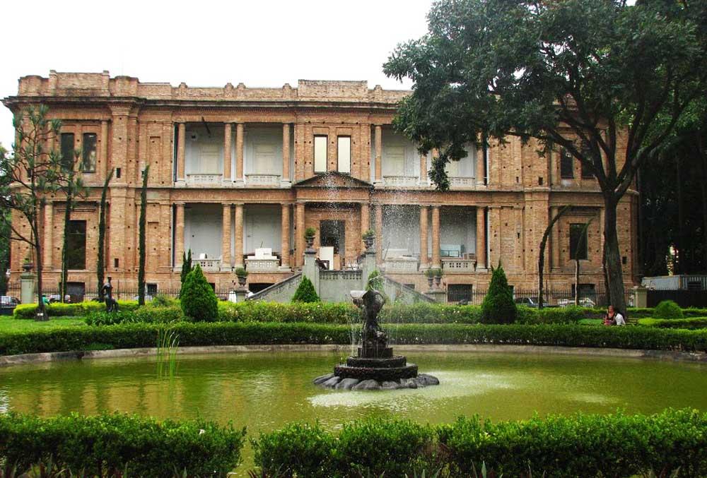 Jardim da Pinacoteca do Estado