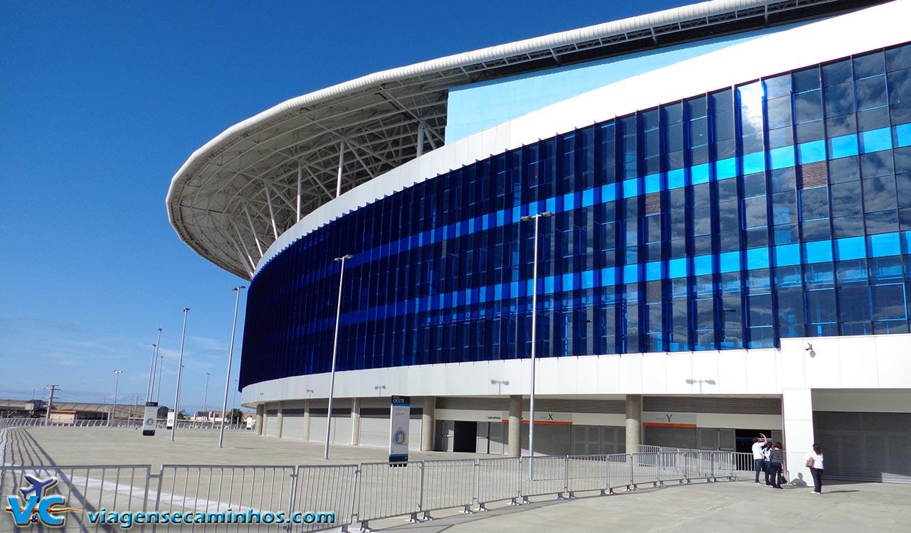 Área externa da Arena do Grêmio