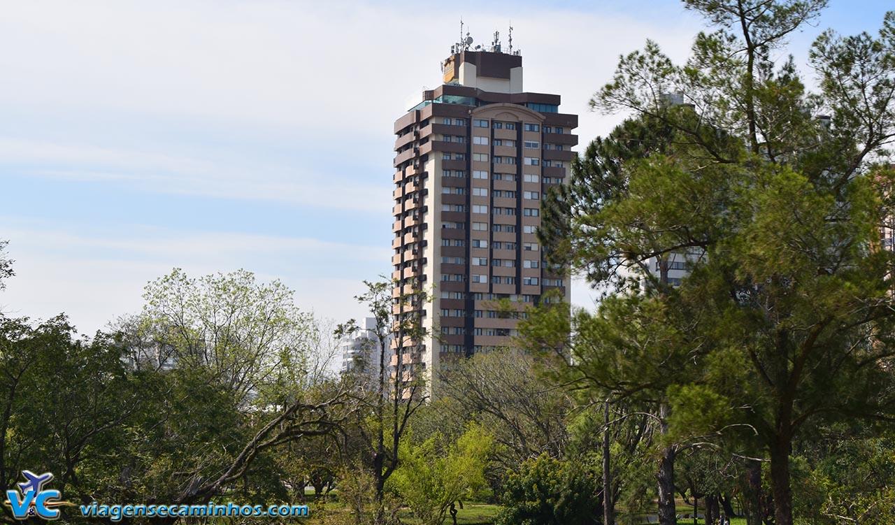 Hotel Blue Tree visto do Parque Marinha do Brasil