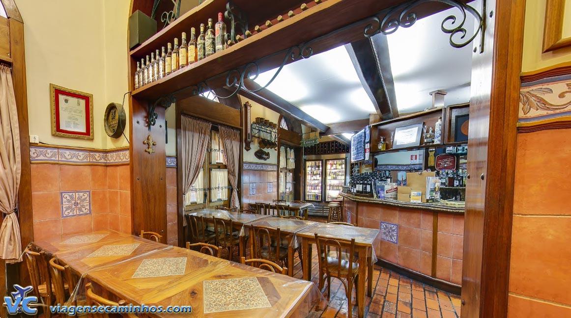 Restaurante Gambrinus – Mercado público de Porto Alegre