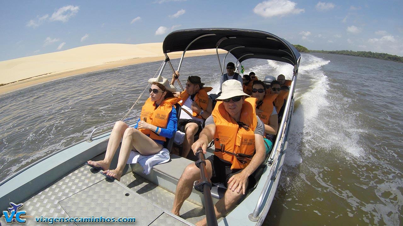 Excursão pelo Rio Preguiças - Lençóis Maranhenses