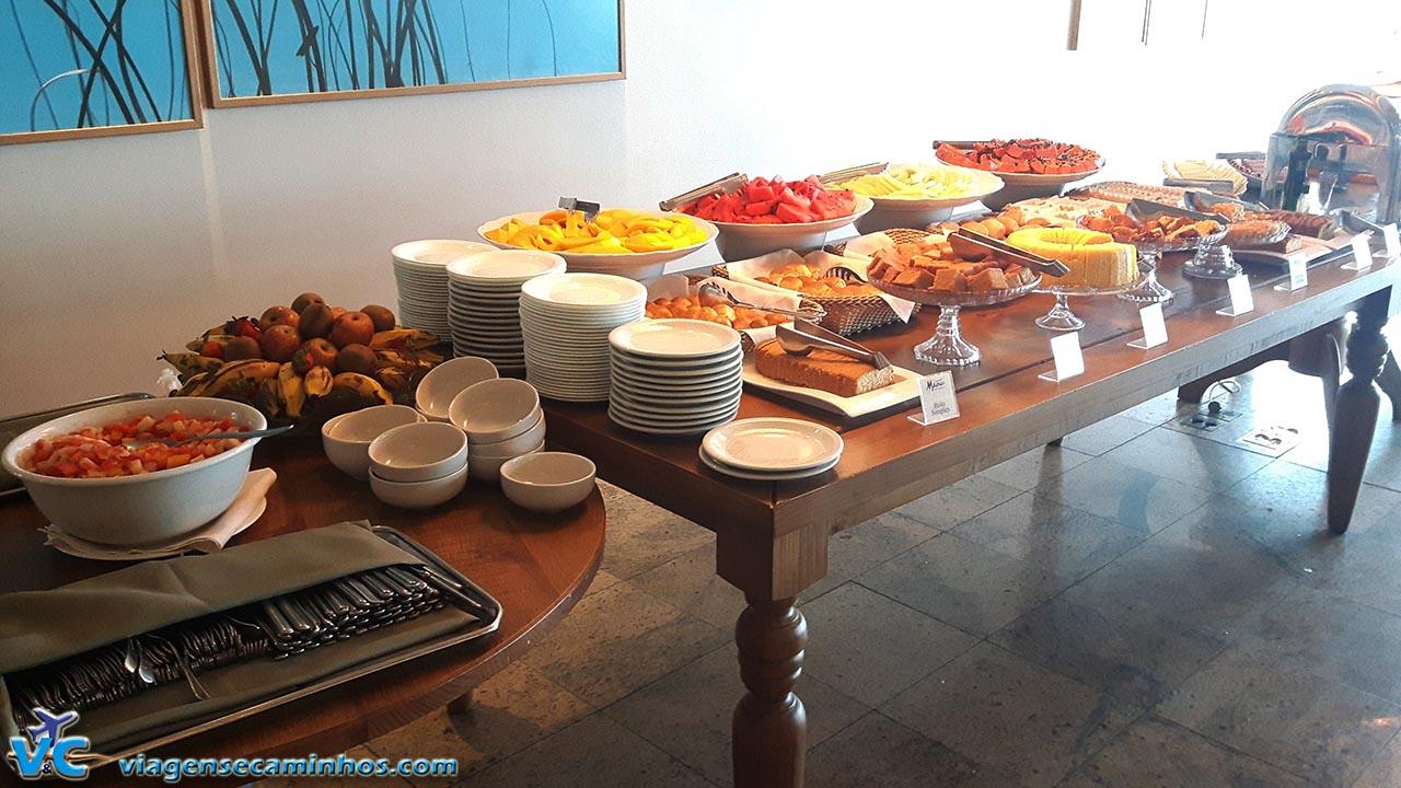 Café da manhã do Hotel Brisamar