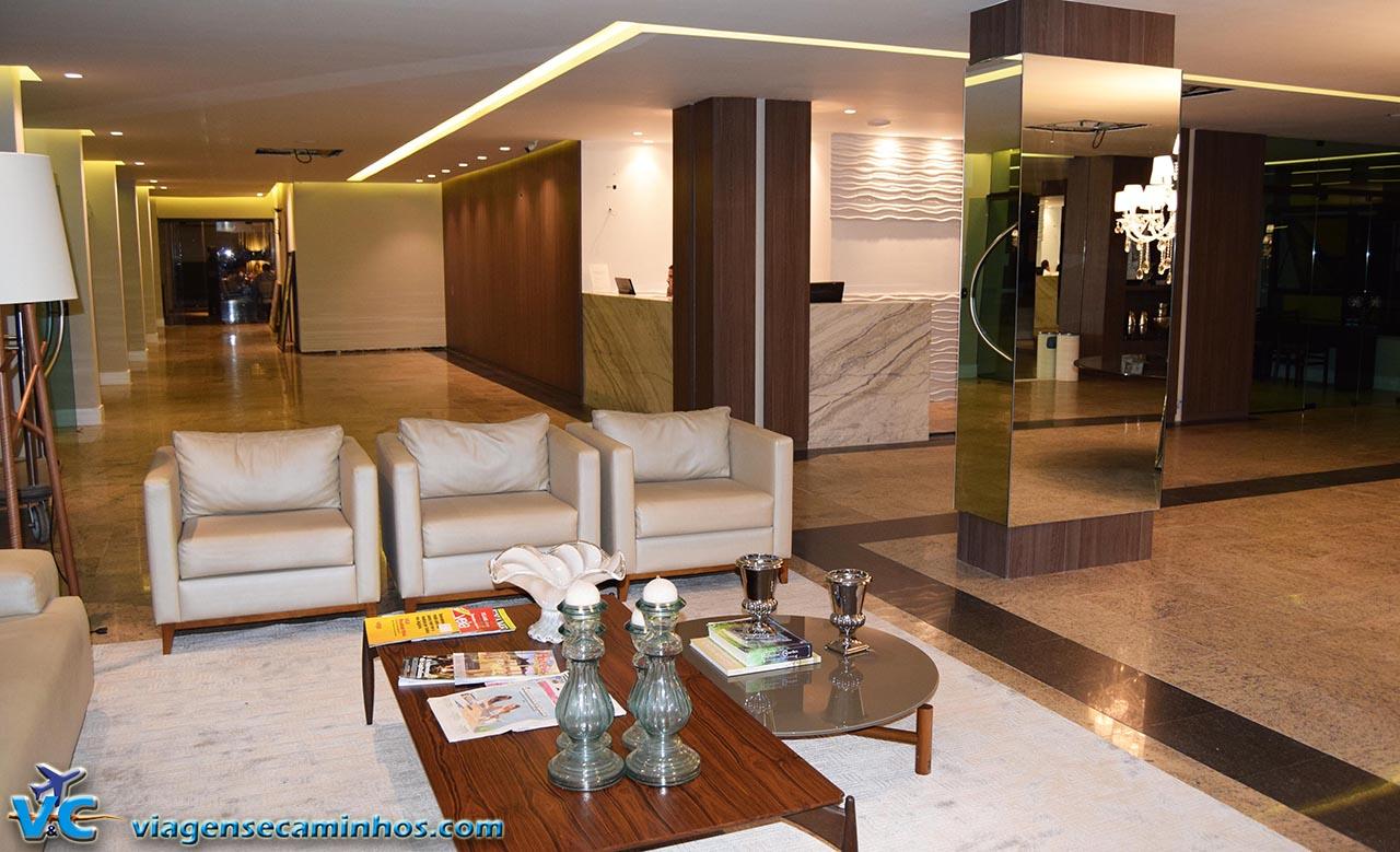 Recepção do Hotel Brisamar