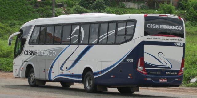 Ônibus da Cisne Branco - Maranhão