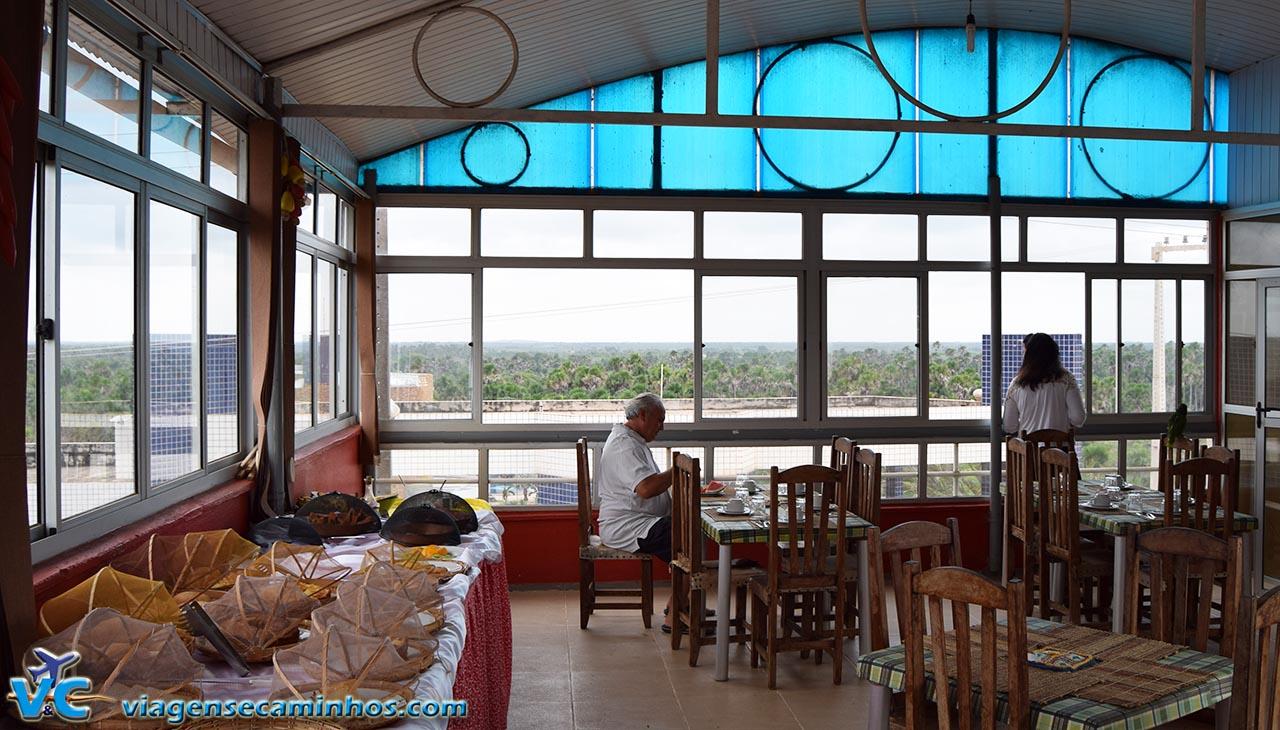 Café da manhã da pousada Solar das Gaivotas