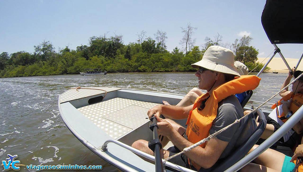 Excursão pelo Rio Preguiças, em Barreirinhas