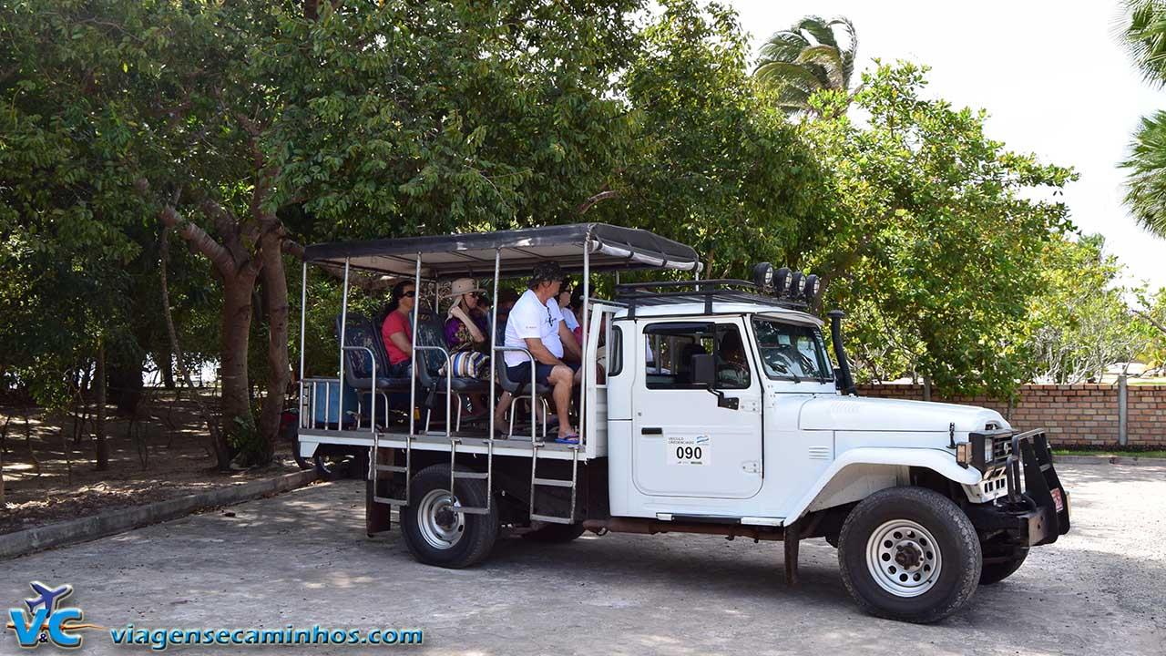 Transporte de Toyota 4x4 para excursões nos Lençóis Maranhenses