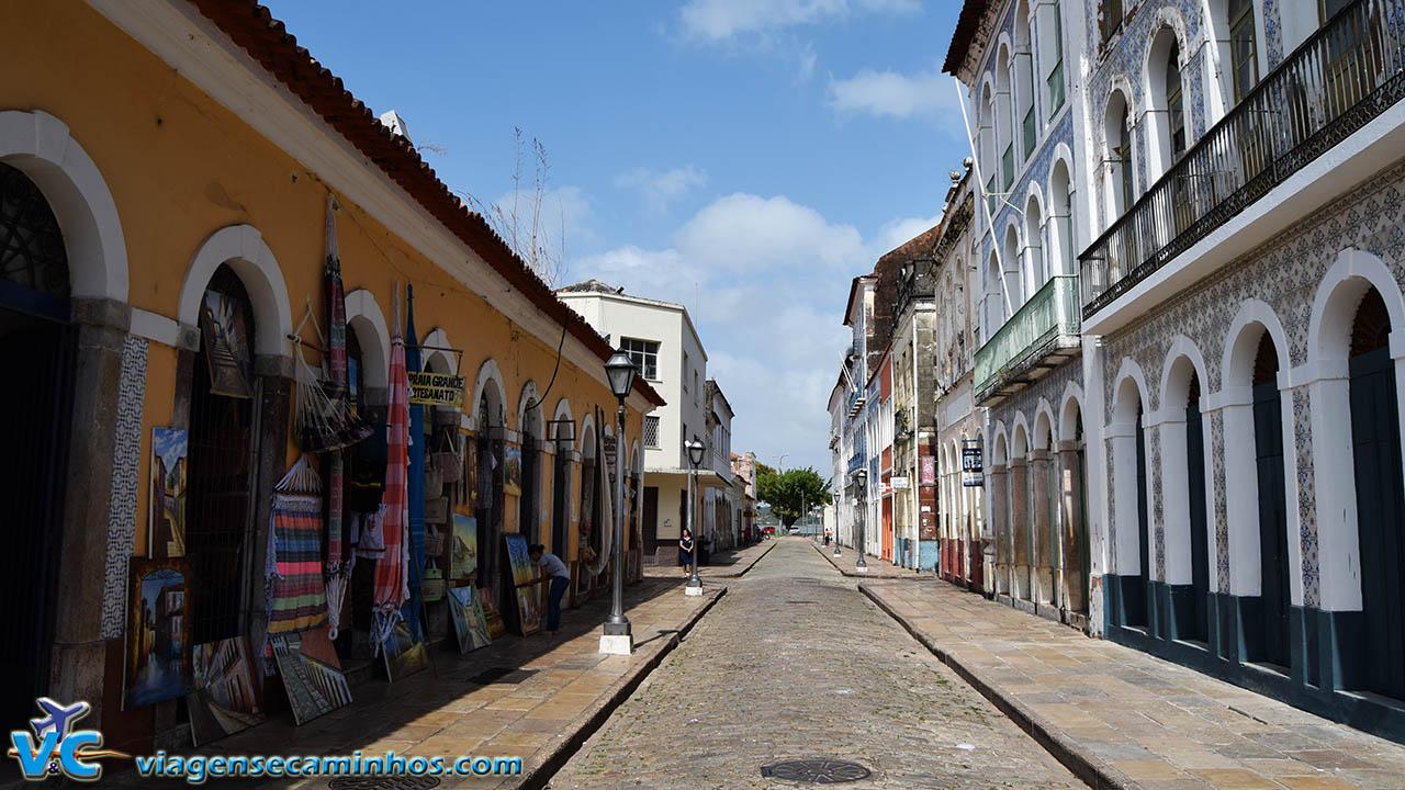 Rua Portugal - Centro Histórico de São Luís