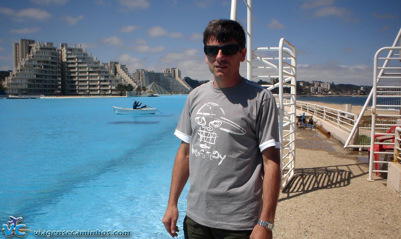 Conhecendo a maior piscina do mundo - Algarrobo - Chile