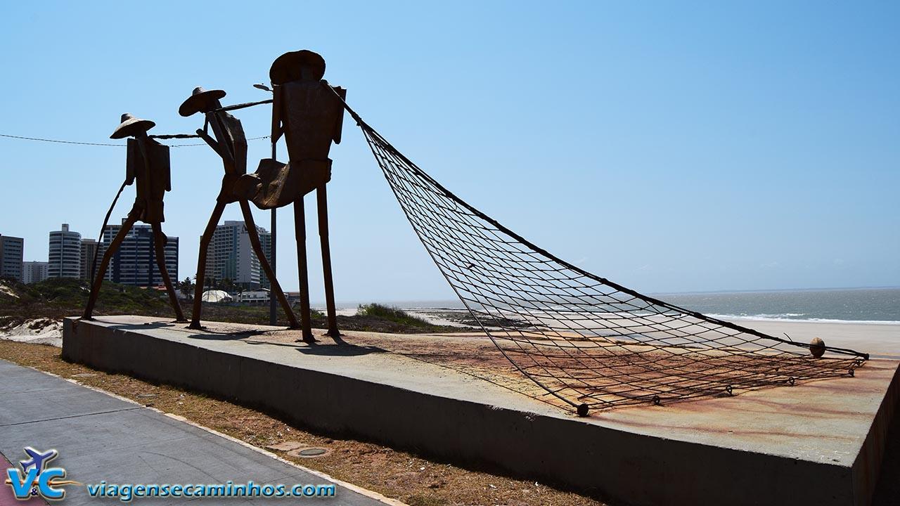 Praça dos Pescadores - Praia São Marcos - São Luís