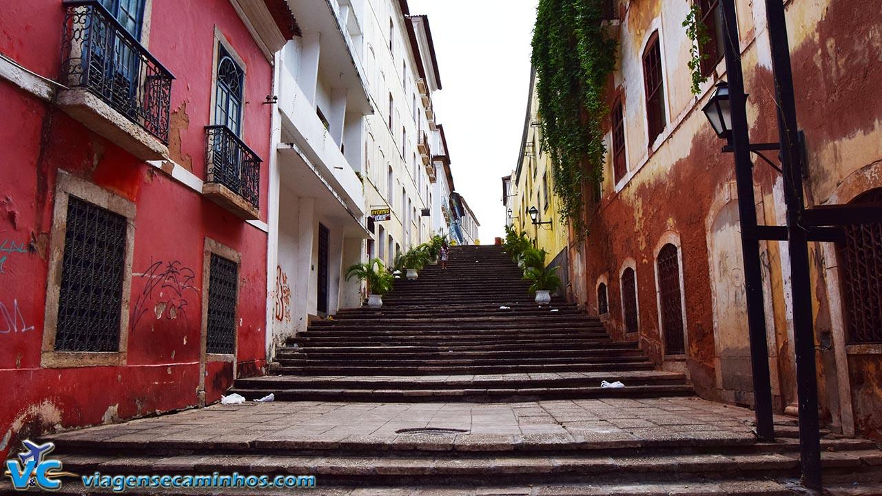 Escadaria no Centro Histórico de São Luís