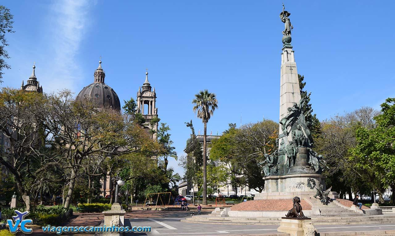 Porto Alegre - Praça Marechal Deodoro