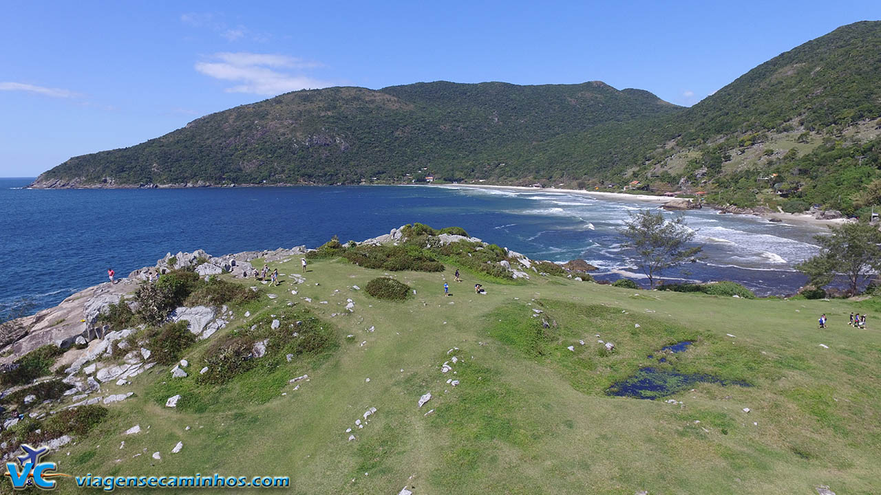 Península da praia da Armação - Florianópolis