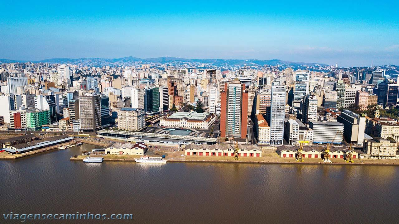 Porto Alegre, vista do Guaíba