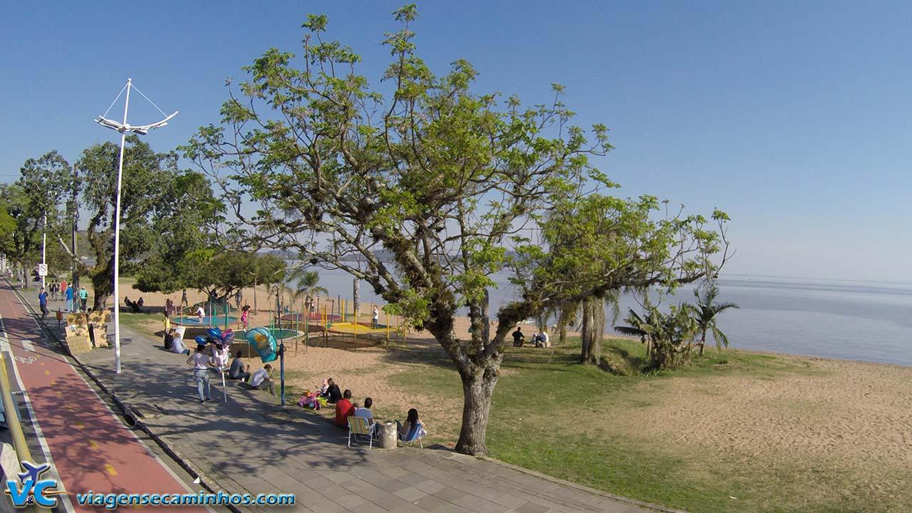 Calçadão da Praia de Ipanema - Porto Alegre