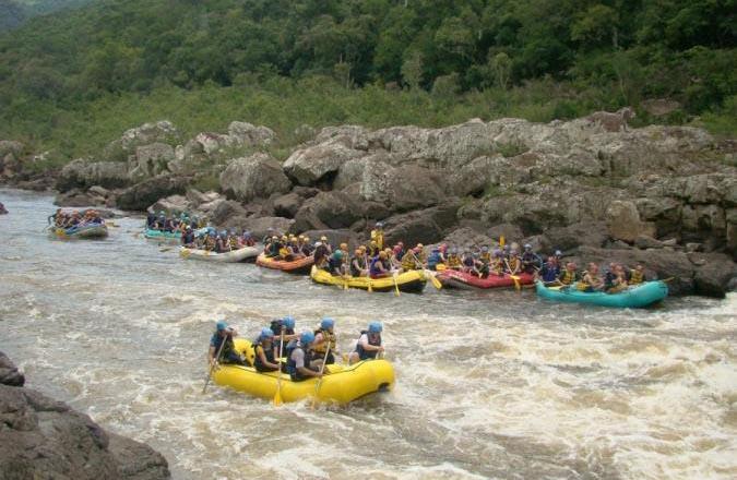 Rafting no Rio das Antas - Nova Roma do Sul