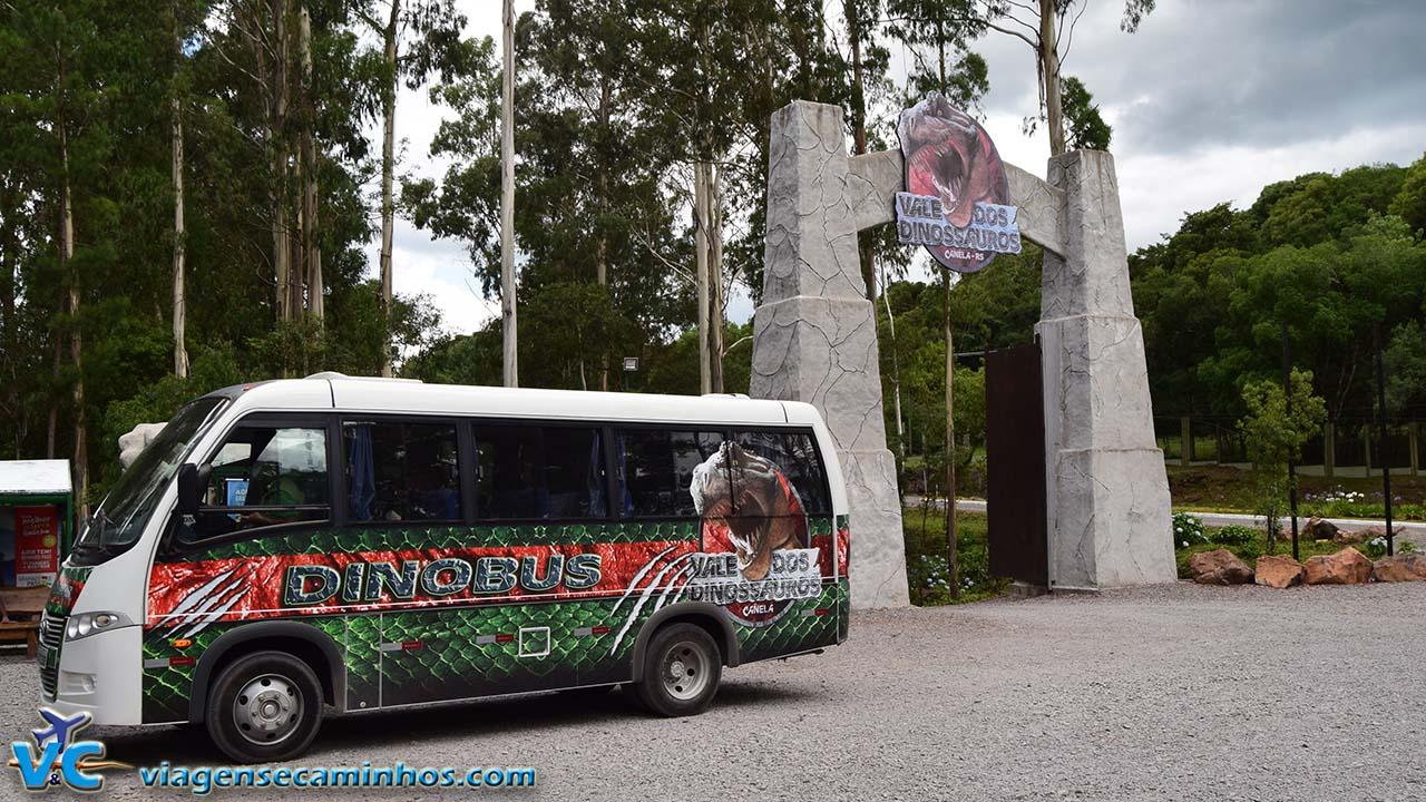 Entrada do Vale dos Dinossauros
