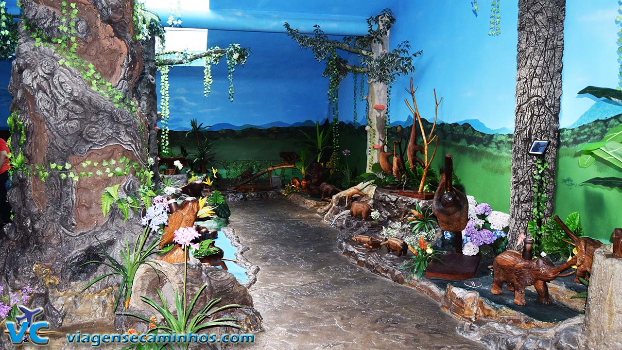 Esculturas que falam - Parque da Serra
