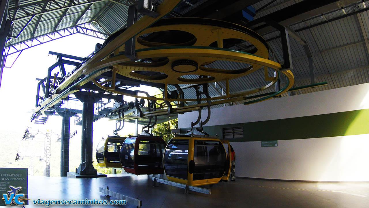 Estação Animal - Bondinhos aéreos Parque da Serra