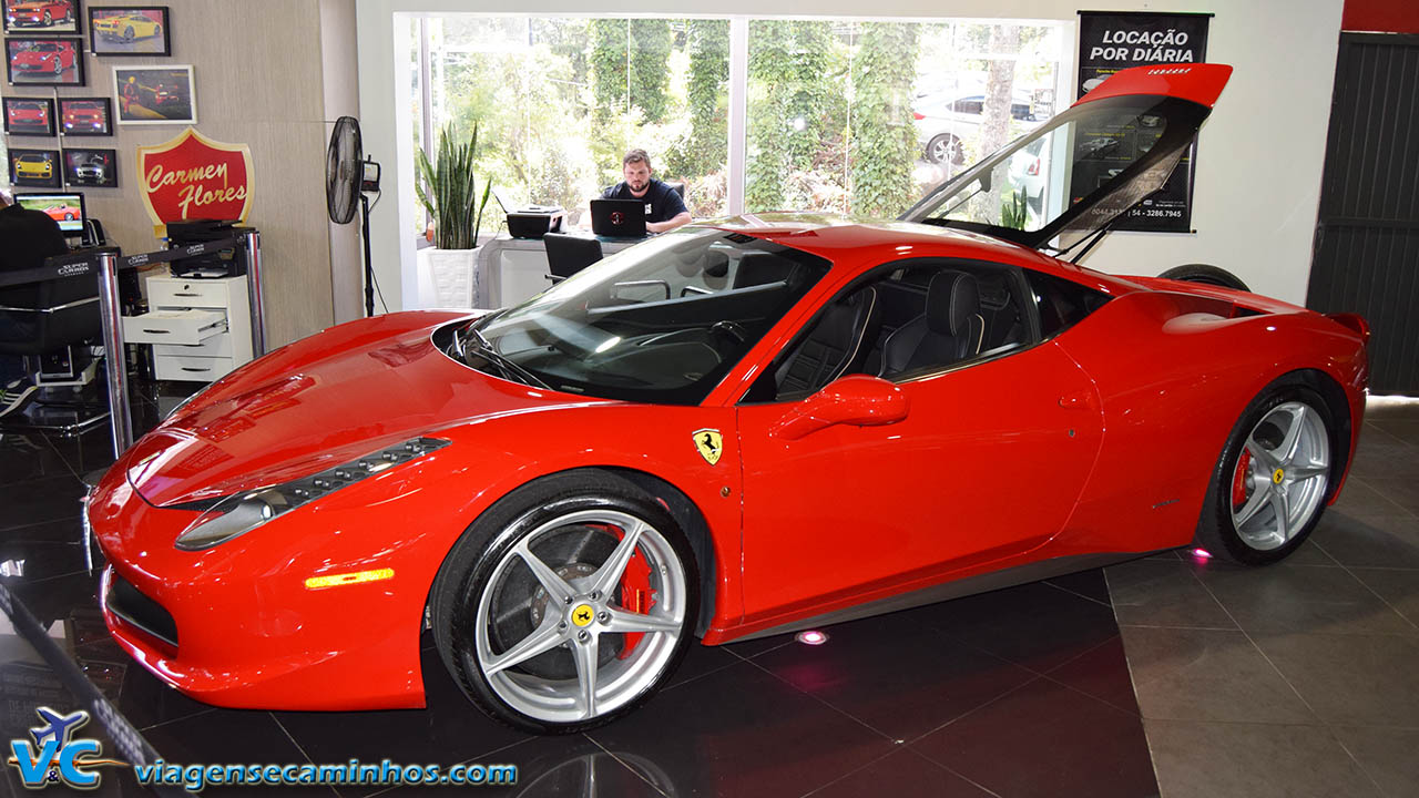 Super carros - Gramado - Ferrari