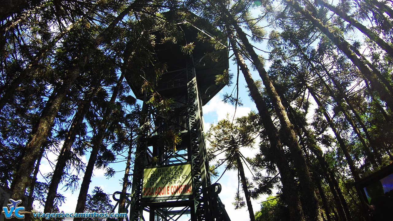 Observatório do Parque do Caracol - Canela