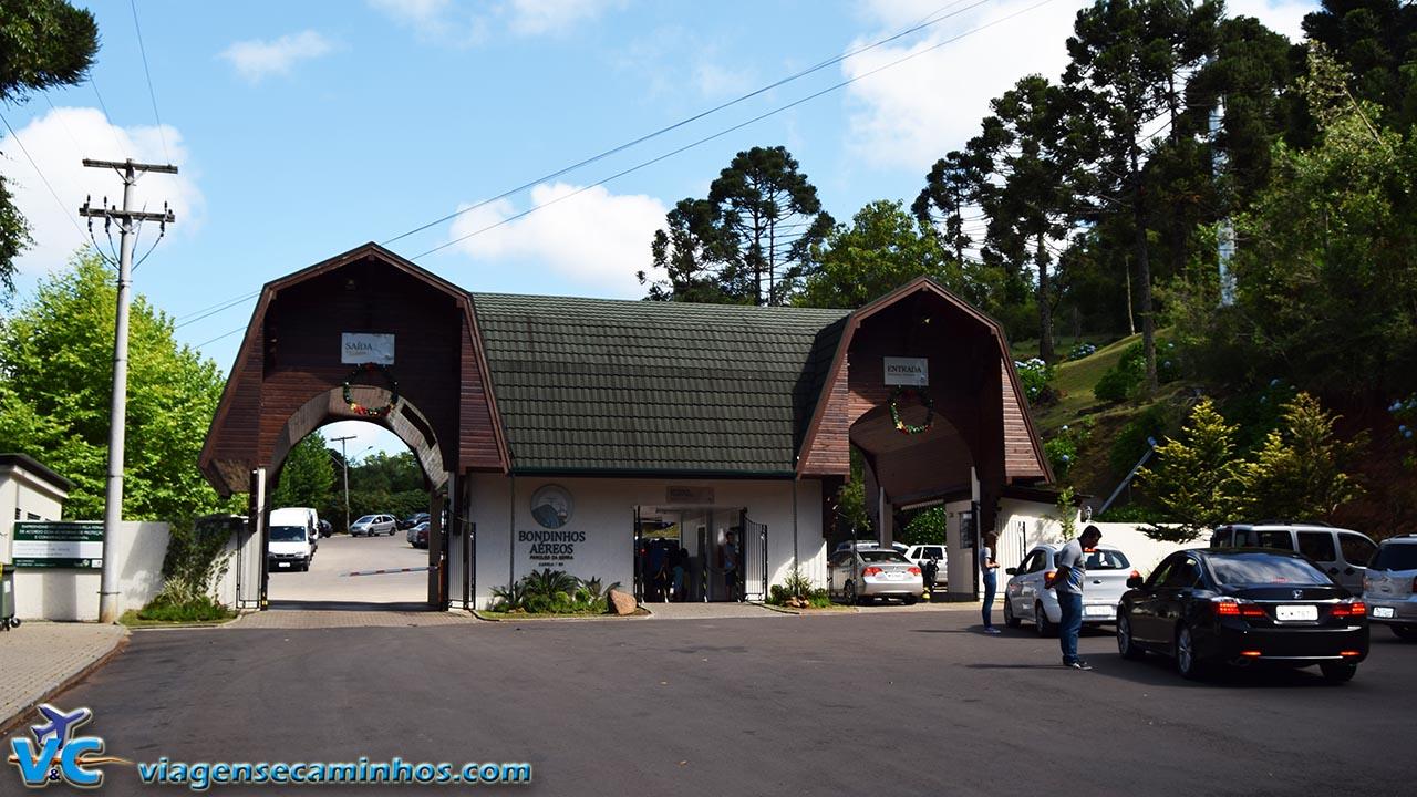 Portaria do Parque da Serra
