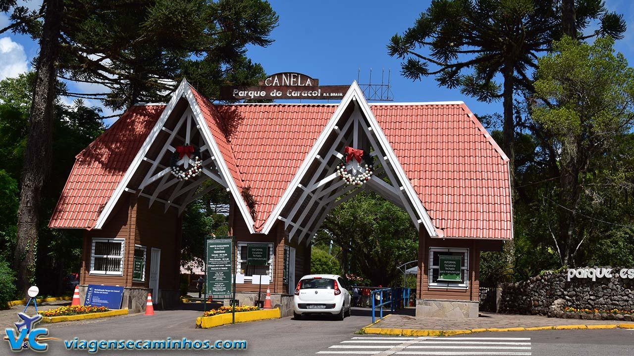 Parque do Caracol - portaria