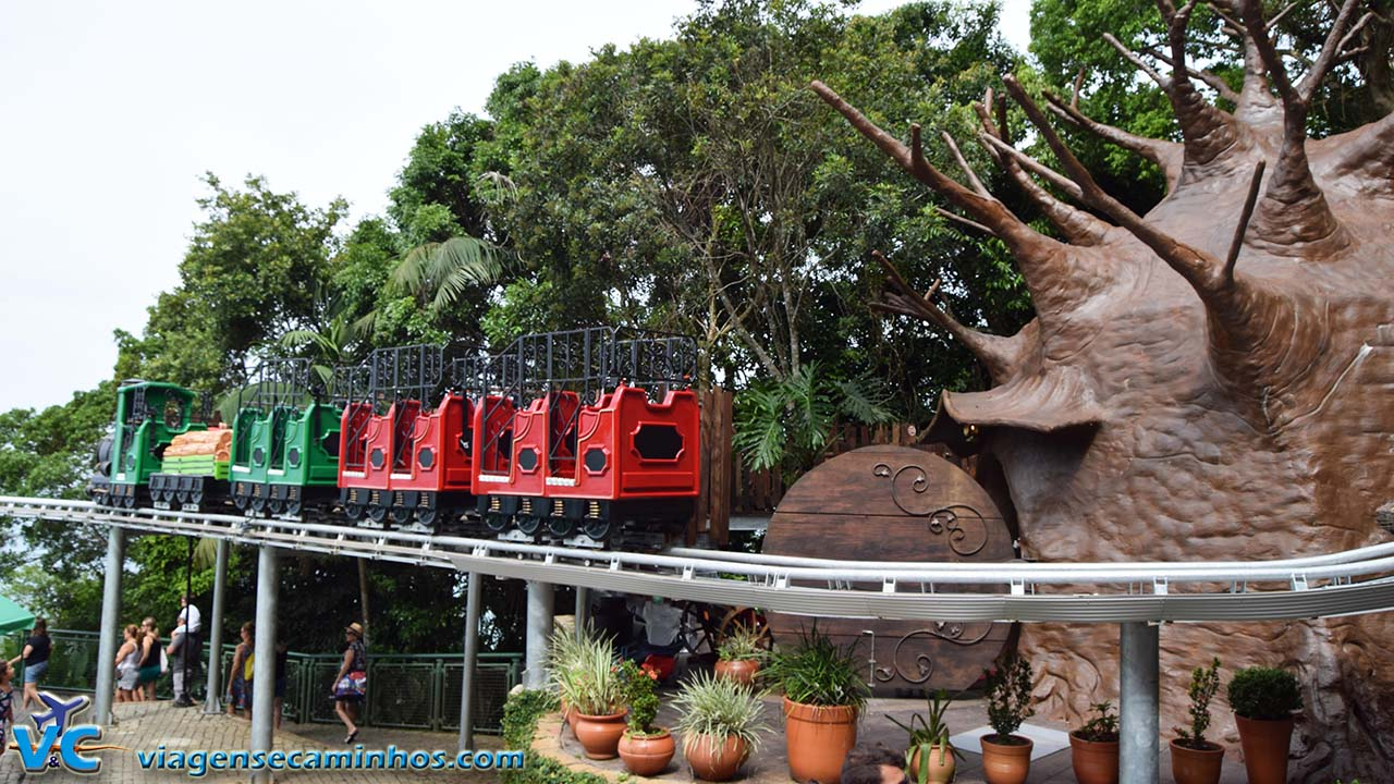 Trenzinho Parque Unipraias - Fantástica Floresta