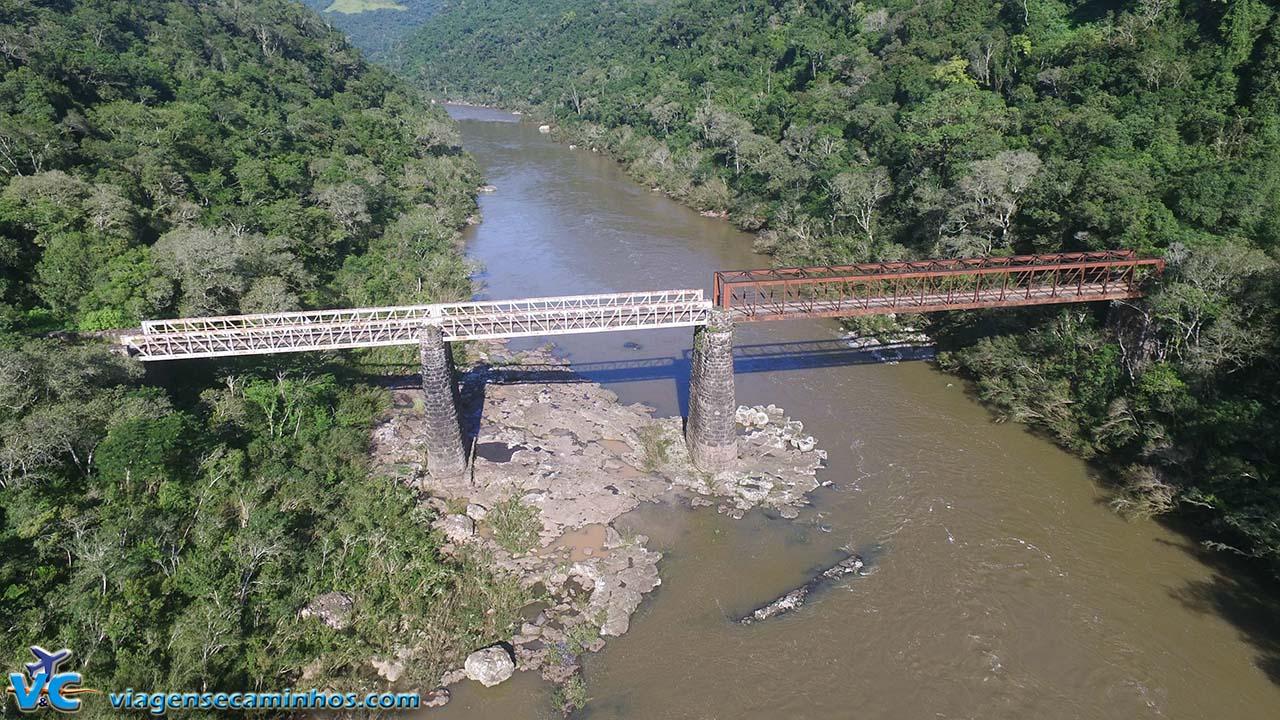 Ponte do Korf e Rio das Antas - Campestre da Serra - RS