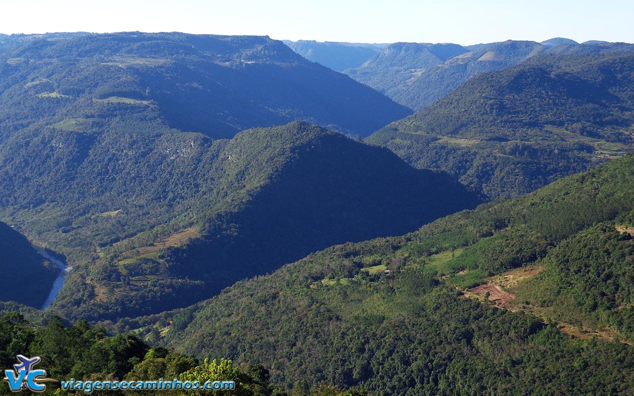 Mirante no caminho entre Nova Petrópolis e Gramado