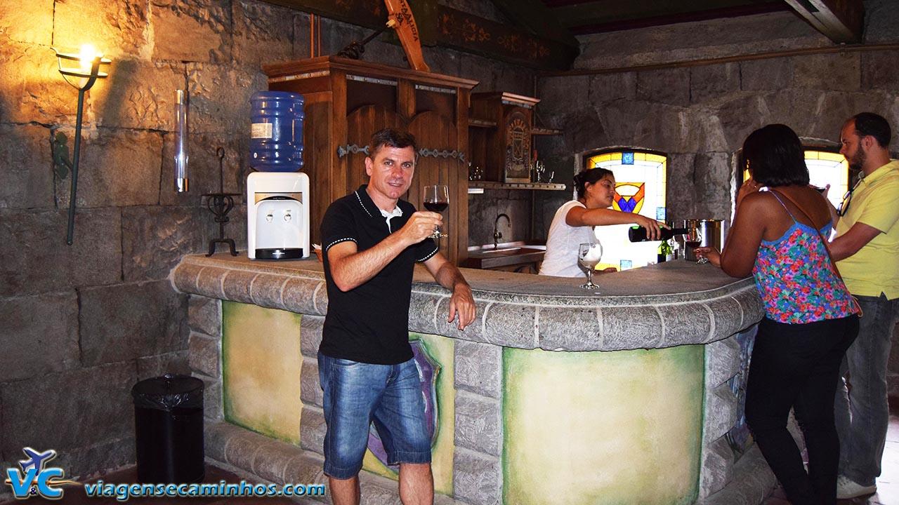 Chateau Lacave - degustação de vinhos