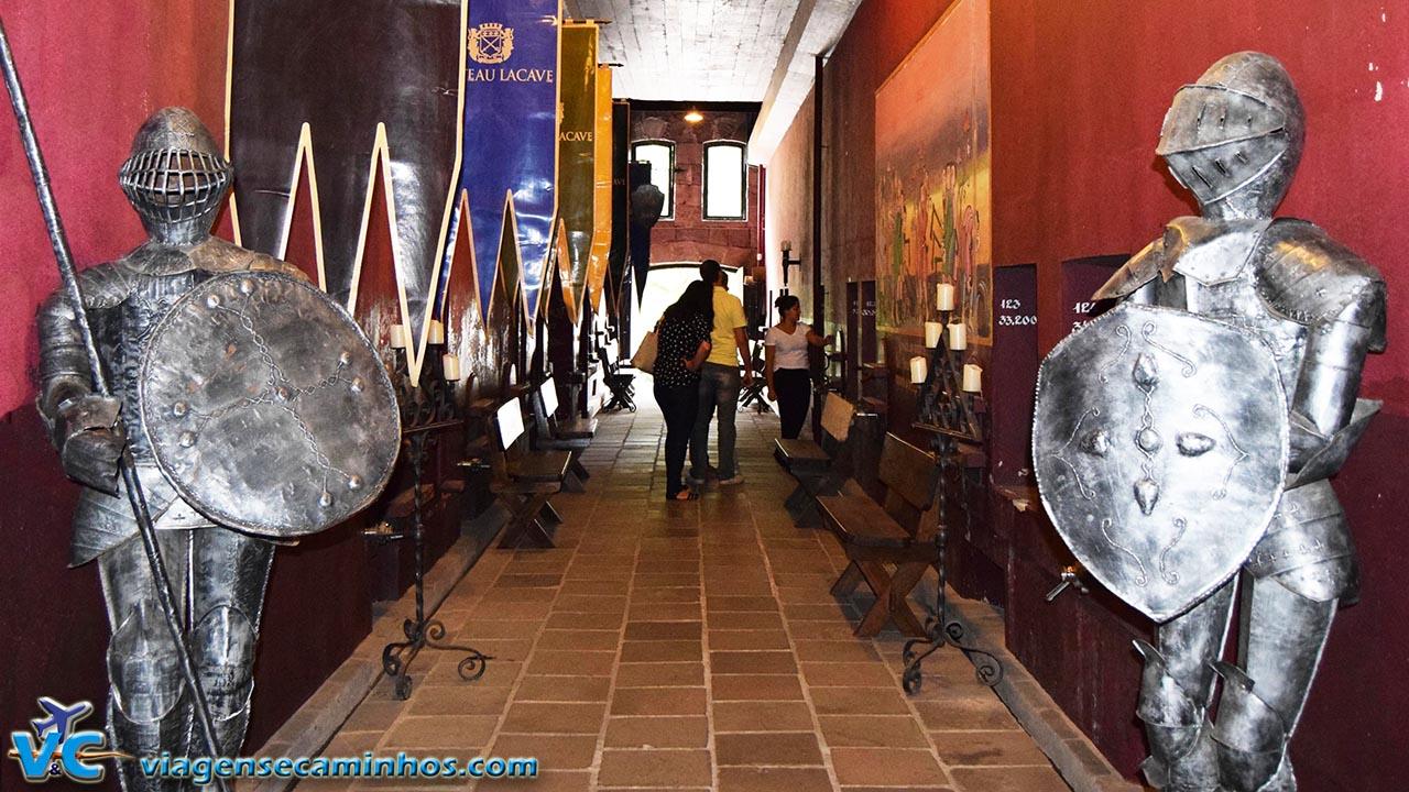 Visitacao Castelo Chateau Lacave - Caxias do Sul