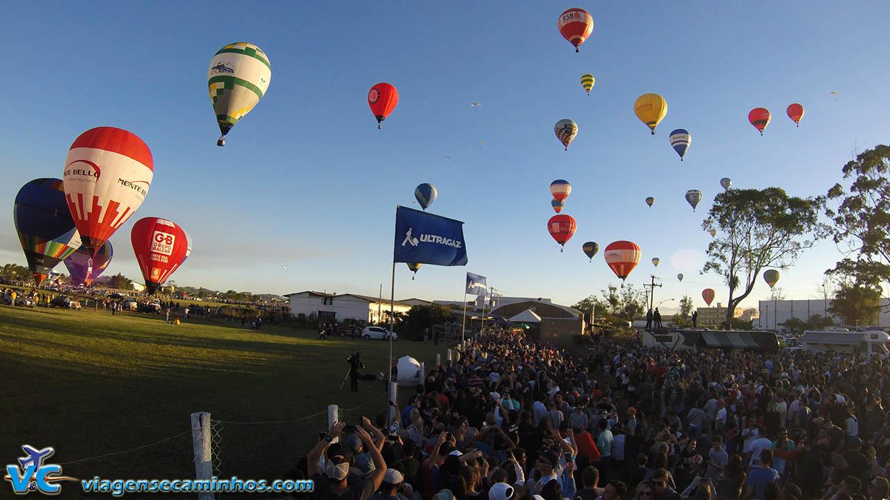 Terceiro maior Festival de Balonismo do mundo