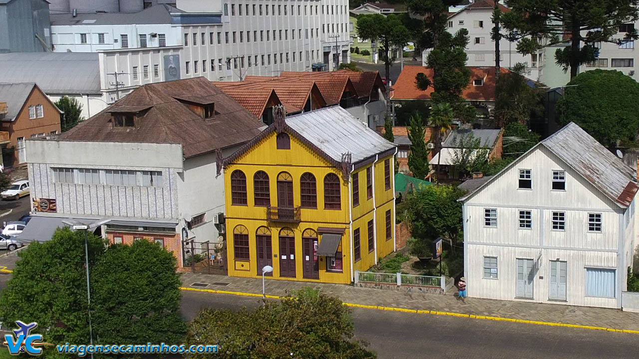 Centro Cultural Padre Schio (Museu Municipal) - Antônio Prado